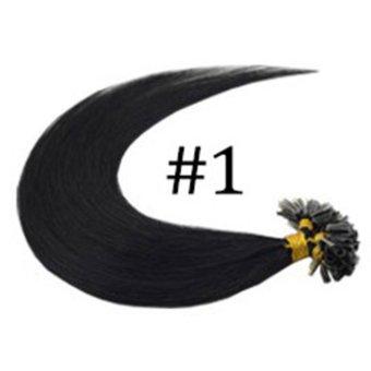 Harga Hair Extension Perpanjangan Rambut 1 Untai 40 cm straight lurus 1 Murah
