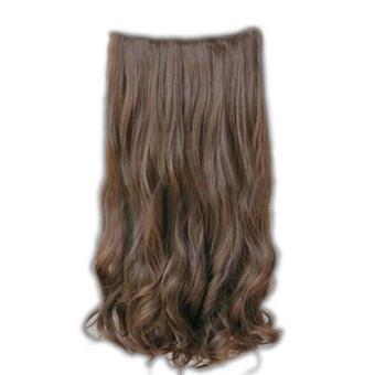 Harga Hair Extension Wig Wanita model Panjang Keriting Bergelombang dengan ukuran 60cm 5 Clips – intl Murah