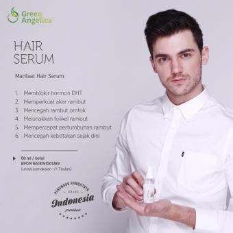 Harga Hair Serum Green Angelica Vitamin Rambut Penyubur dan Penguat Akar Rambut Cegah Kerontokan dan Kebotakan Murah