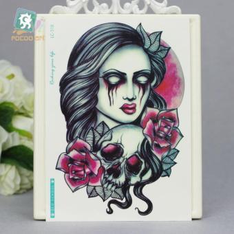Jual Halloween Series Tato Design Blood Women Temporary Hargatrend