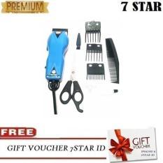 Rp 54.900. Happy King HK-900 Alat Cukur Rambut Hair Clipper Trimmer Mesin Potong  Professional ... 4f2fa4647a