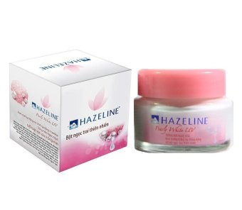 Hazeline Pearly White UV 45gr - pink