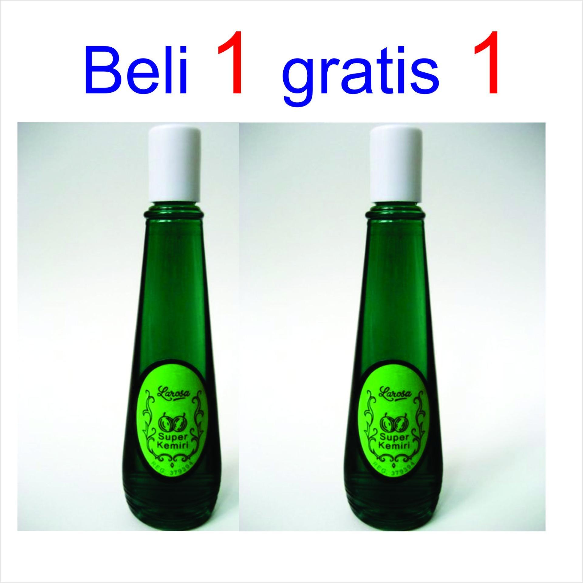 harga penawaran hb minyak kemiri larosa penumbuh rambut - 100ml x 2 Gambar Minyak Kemiri Untuk Rambut
