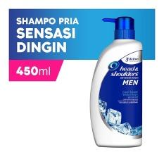 Head & Shoulders Sampo Cool Blast - 450 ml