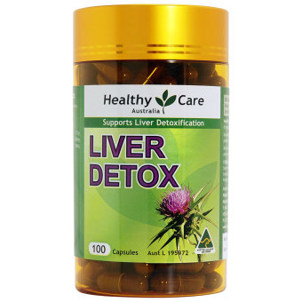 Healthy Care Liver Detox 50 Days - 100 Capsules