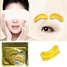 Hebat Gold Collagen Eye Pad Cair Anti Penuaan Kerut Pelembab Masker Wajah Makeup-Intl