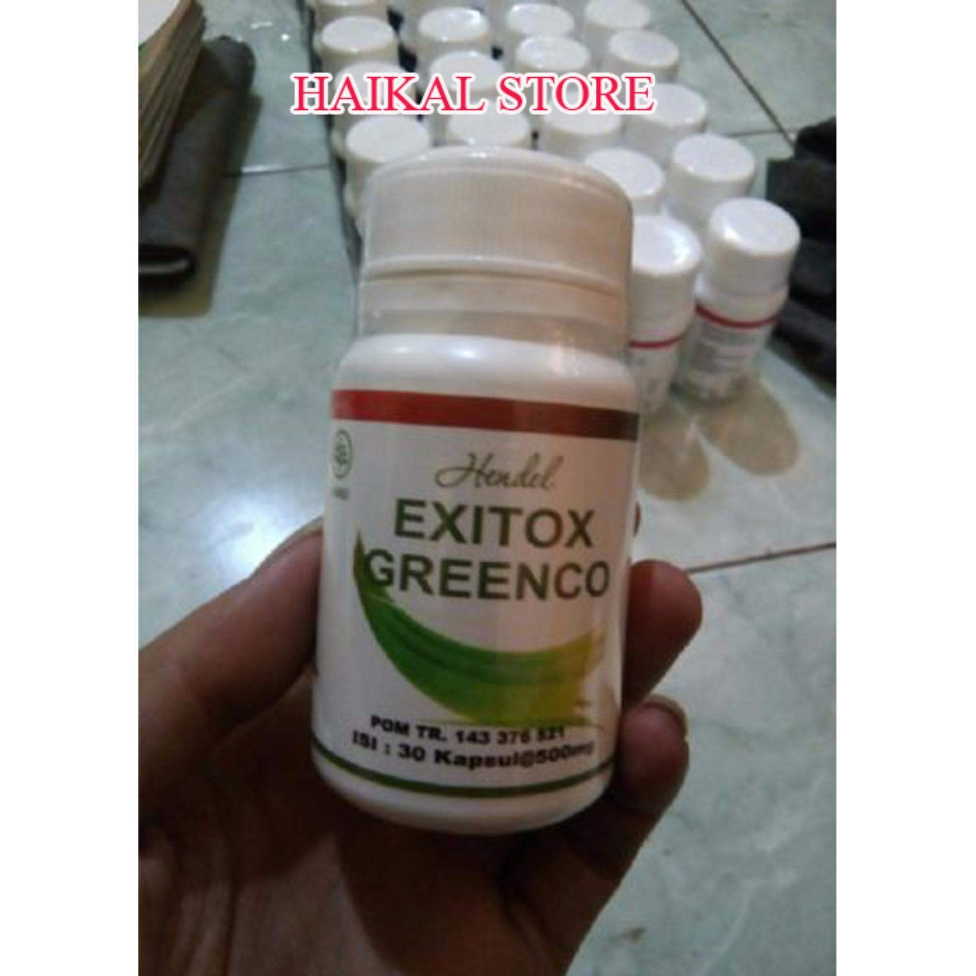 HENDEL EXITOX GREENCO GREEN COFFEE BEAN EXTRACT PELANGSING BADAN RESMI BPOM