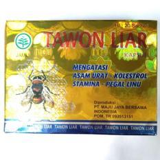 Tawon Liar Capsul 1 Pack Sachet Warna Hijau Silver Box HologramIDR44000 Rp 45000 Herbal Kapsul Asam