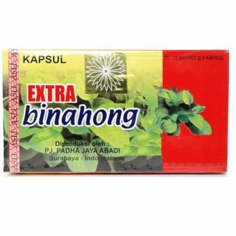 Herbal Kapsul Binahong Extra Binahong 48 Capsul Ekstrak Binahong