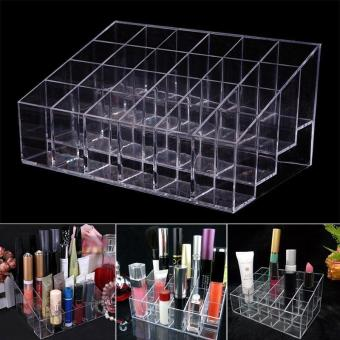 C129 See Through Acrylic Makeup Cotton Swabs Organizer Storage Box Source · Hight Quality Store New