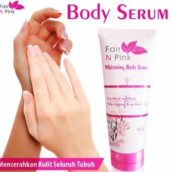 HOKI COD - Fair N Pink Whitening Body Serum - BPOM Original Premium 100% -