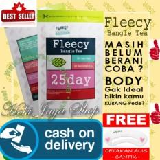 HOKI COD - Fleecy Bangle Tea - Slimming Tea - Teh Pelangsing Premium Original 100% - 1 Pack Isi 25 Sachet + Gratis Cetak Alis Cantik - Premium