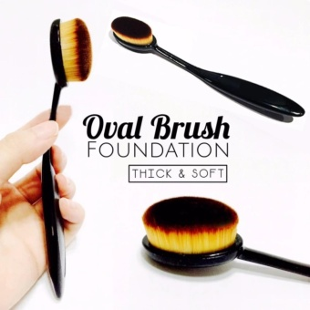 HOKI COD - Kuas oval - Oval Brush - Foundation Brush - Kuas Foundation - 1 Piece