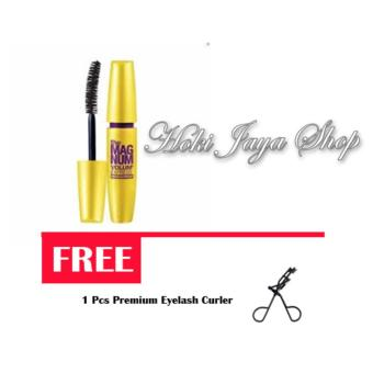 HOKI COD - Mascara The Fals Lash Volume Express - Maskara Waterproof - Model KUNING Warna Hitam FREE Premium Eyelash Curler - 1 Pcs