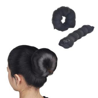 Harga Hot Buns – Produk Penata Rambut Istimewa Tidak Sampai 1 Menit AlatSanggul Ajaib Sanggul Magic Aksesoris Rambut Wig Sehari Hari KondeInstan Aksesoris Ikat Rambut – Hitam Murah