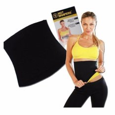 Hot Shaper Korset Pelangsing Perut Sports Hot Shapers Neotex Slimming Tummy Body Belt -  Hitam