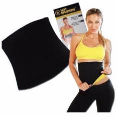 Hot Shaper Korset Pelangsing Sports Slimming Body Belt - Hitam