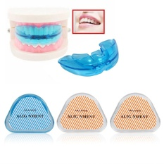 Hot Teeth Retainer Dental Health Care Straight Tooth Tray Trainer Accessories Transparent Hard - intl