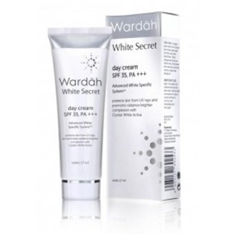 Harga Wardah White Secret Day Cream SPF 35 - 17ml