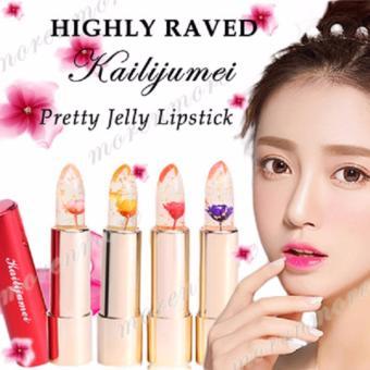 Kalijumei Lipstick Floral Jelly 100% Ori Dapat Berubah Warna
