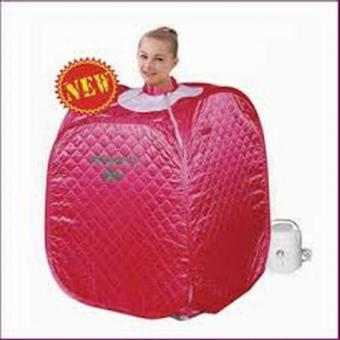 Harga HLJ Steam Sauna Spa Portable Beauty Spa - Pink Tua