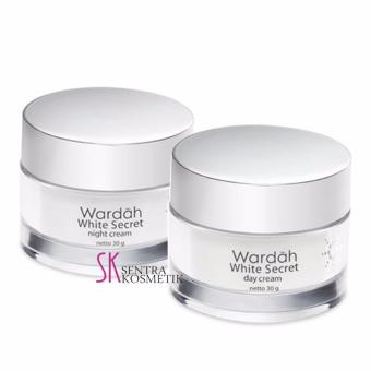 Harga Wardah white Secret Day dan Night - 30 gr