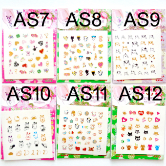 Harga Anne - Water transfer nail art series - AS12