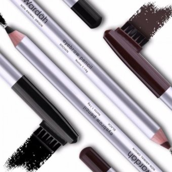 Harga Wardah Eyebrow Pencil Brown