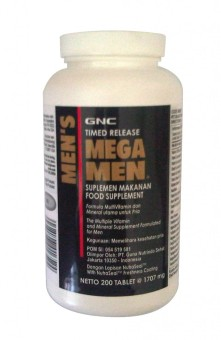 Harga GNC Mega Men - 200 tablet