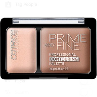 Harga Catrice Prime And Fine Professional Contouring Palette - 10 Ashy Radiance
