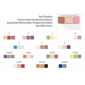 Harga Wardah Eye Shadow