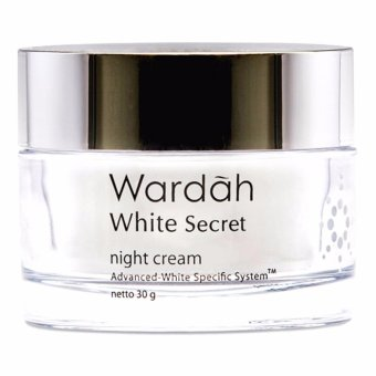Harga Wardah White Secret Night Cream - 30 gr