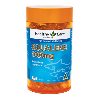 Harga Healthy Care Squalene Shark Oil 1000 mg - 200 Kapsul