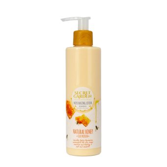 Harga Secret Garden - Moisturizing Lotion Natural Honey-230gr