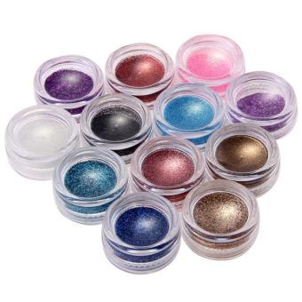 Glitter Powder Pure Nail Art Set of 12