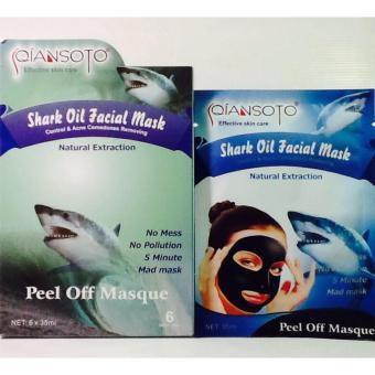Masker Qiansoto Shark Oil / Masker Wajah Qiansoto - 3sachet
