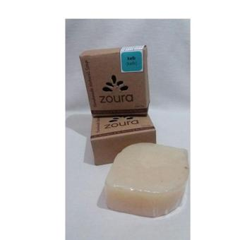 Harga Zoura Natural Soap - Varian Kefir For Face & Body