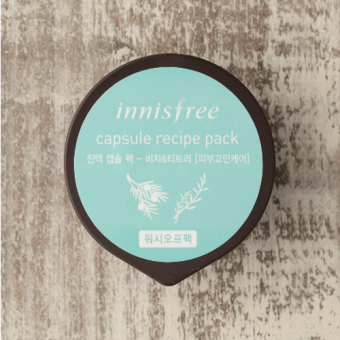 Harga Innisfree Capsule Recipe Pack - Bija And Tea Tree 10 ml