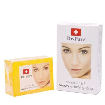 Harga Dr pure Beauty Whitening Soap 80 gr