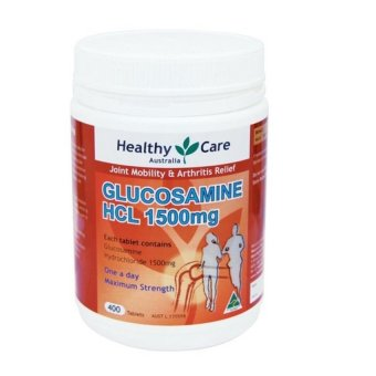 Harga Healthy Care Glucosamine HCL 1500 Mg - 400 Capsules