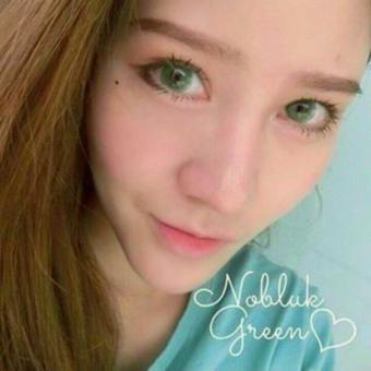 Softlens Dreamcolor Nobluk - Green - Gratis Lens Case