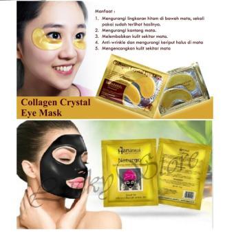 Review Dan Harga Collagen Crystal Eye Mask Masker Mata 10 Pcs Free Hanasui Naturgo Masker Lumpur Wajah 10 Sachet Pebruari 2018