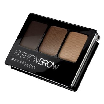 Harga Maybelline Fashion Brow 3D Brow & Nose Palette Brown