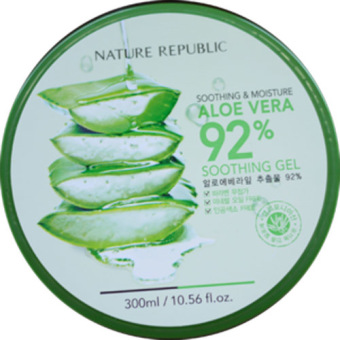 Harga Nature Republic Aloe Vera 92% Soothing Gel 300ml/Gel
