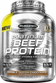 Harga Muscletech Platinum Beef Protein- 4.2Lb