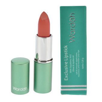 Harga Wardah Exclusive Lipstick No. 48 - Rosemary Lipstik wardah