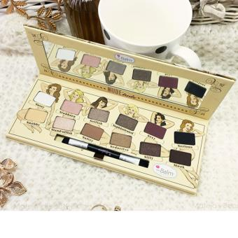 Harga Make Up Store Tude Eyeshadow Palette - Ever Beauty 12 Warna