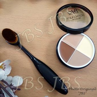 Harga MN Foundation Concealer - Kuas Oval - Oval Brush - Oval Brush Foundation