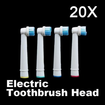 Harga 20 PCS Tooth Brushes Head Electric Toothbrush Replacement Heads for Oral Vitality Hygiene - intl