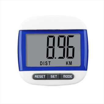 Harga Rorychen Multifuctional Digital Pedometer Step Distance Calorie Counter(Blue)